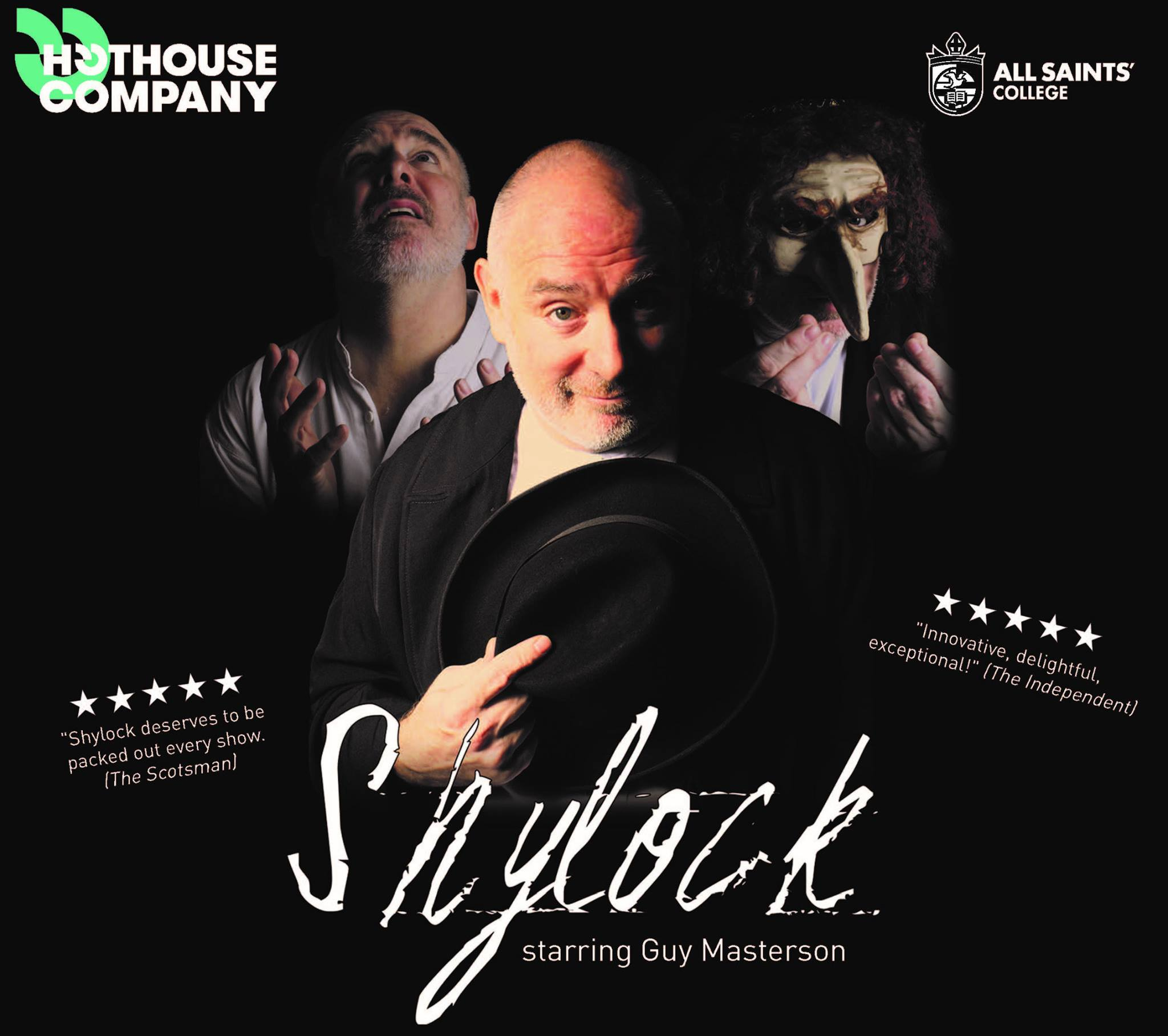 All Saints' College Centre for Performing Arts presents Shylock