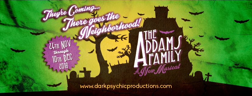 Dark Psychic Productions presents The Addams Family