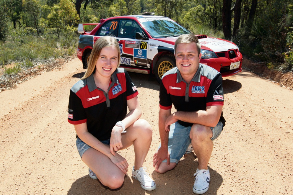 Dylan King and Abbey Hayes. Picture: Bruce Hunt           d462639