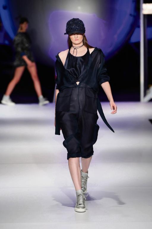 South Metropolitan Tafe fashion student graduates hit new heights on runway