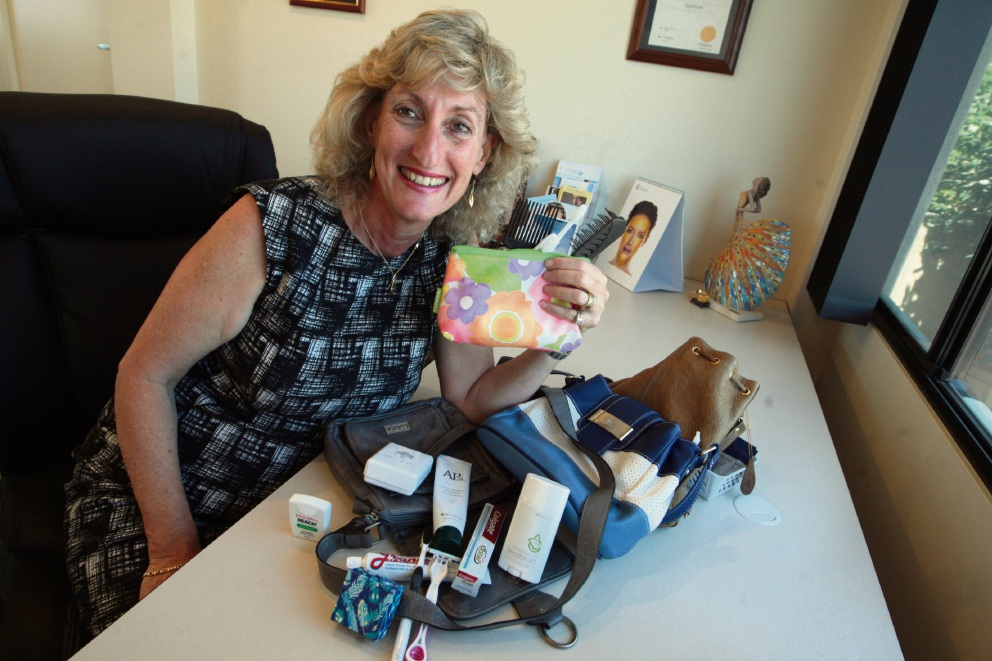 Joanne Samer with some of the products she would like people to donate.  Picture: Bruce Hunt        www.communitypix.com.au   d462628