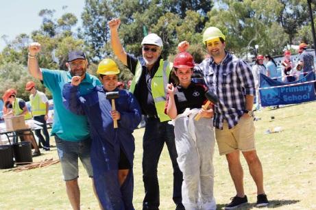 Primary school graduates take part in Mining Challenge Day activitites