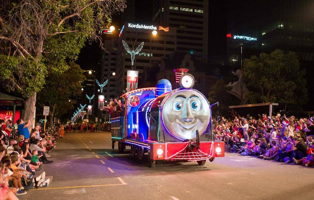 Perth Christmas Pageant set to sparkle on Saturday night
