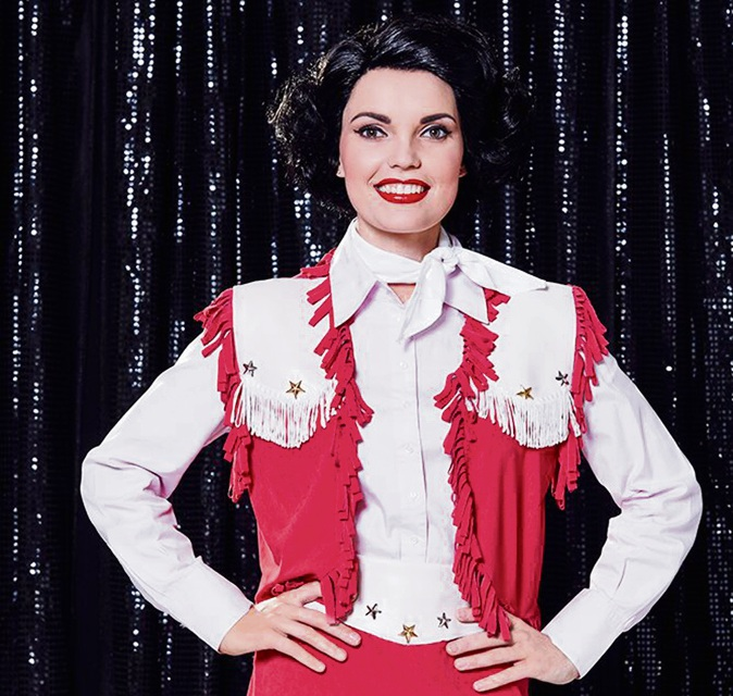 Courtney Conway as Patsy Cline.