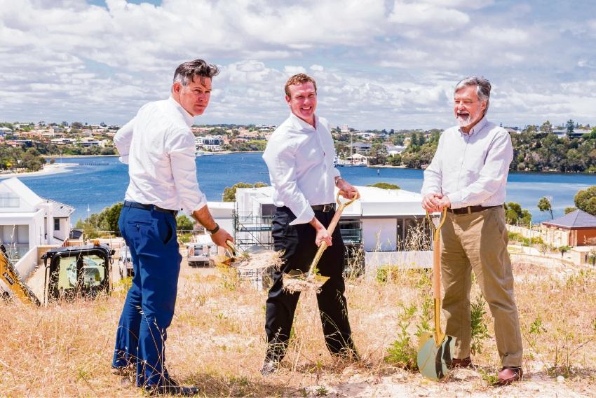 The Cove: Blackburne officially breaks ground on Minim Cove development