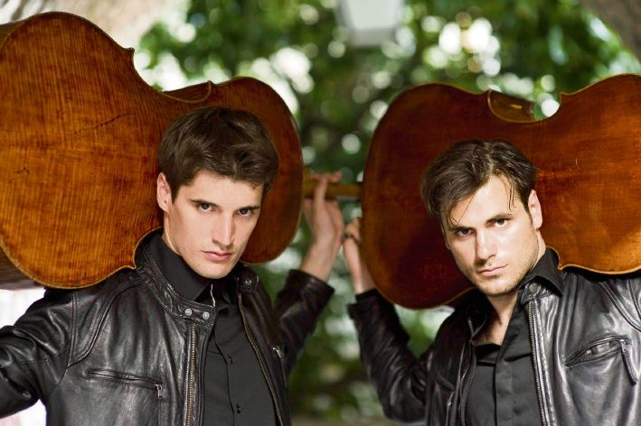 Luke Sulic (left) and Stjepan Hauser (right).