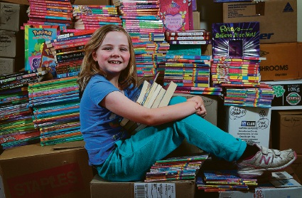 Collier Park Primary book sale to benefit type 1 diabetes research
