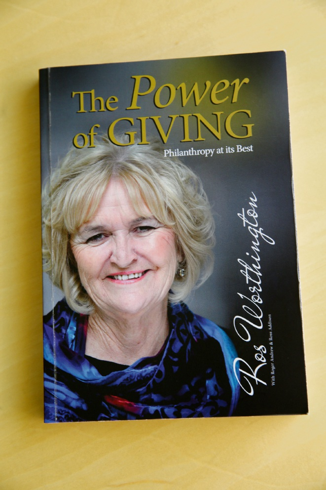 The Power of Giving: author Ros Worthington pays it forward in new tome