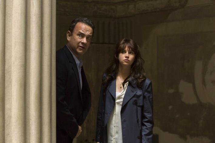 Robert Langdon (Tom Hanks) and Sienna Brooks (Felicity Jones).
