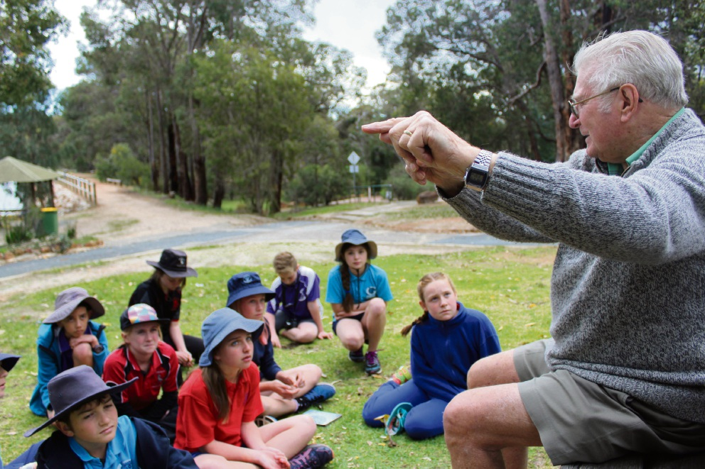Chidlow students gain knowledge of nature after talk by Eric McCrum