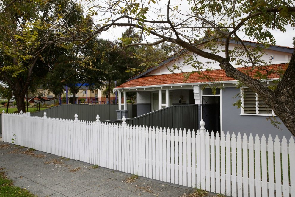 The property on Summers Street, Perth, that will be rezoned to become a childcare centre. Picture: Andrew Ritchie.