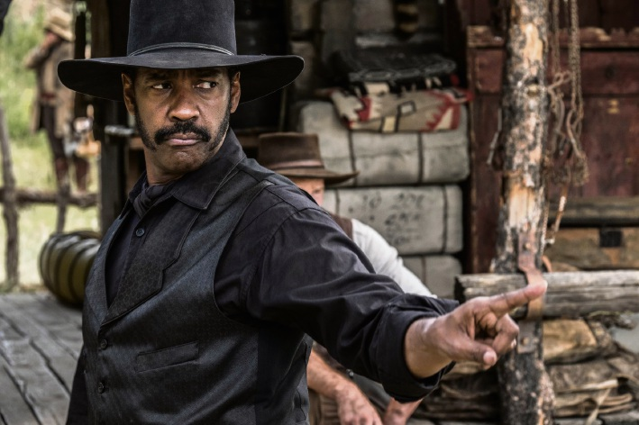 Denzel Washington in The Magnificent Seven.