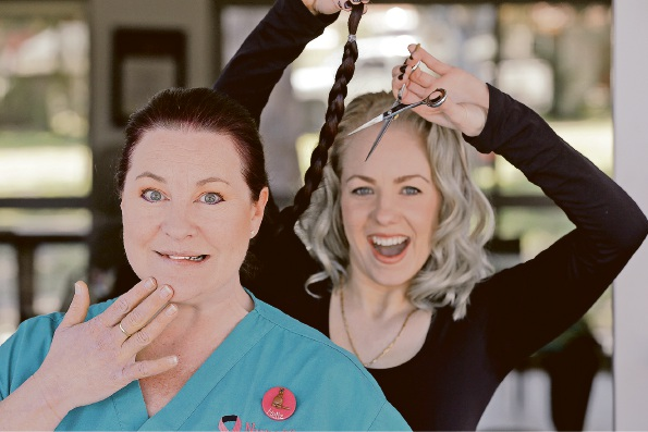 Balga nurse to cut off her ponytail in the name of cancer awareness