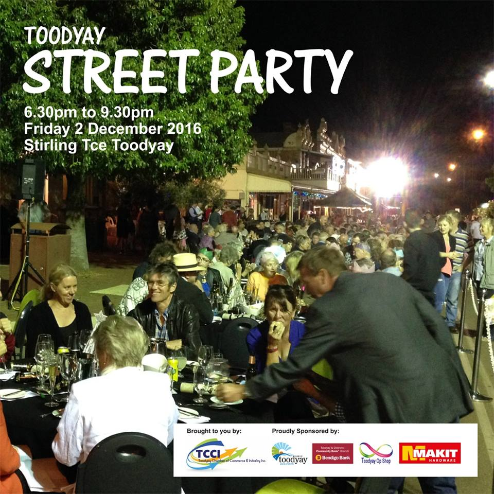 Toodyay Christmas Street Party set to rock this weekend
