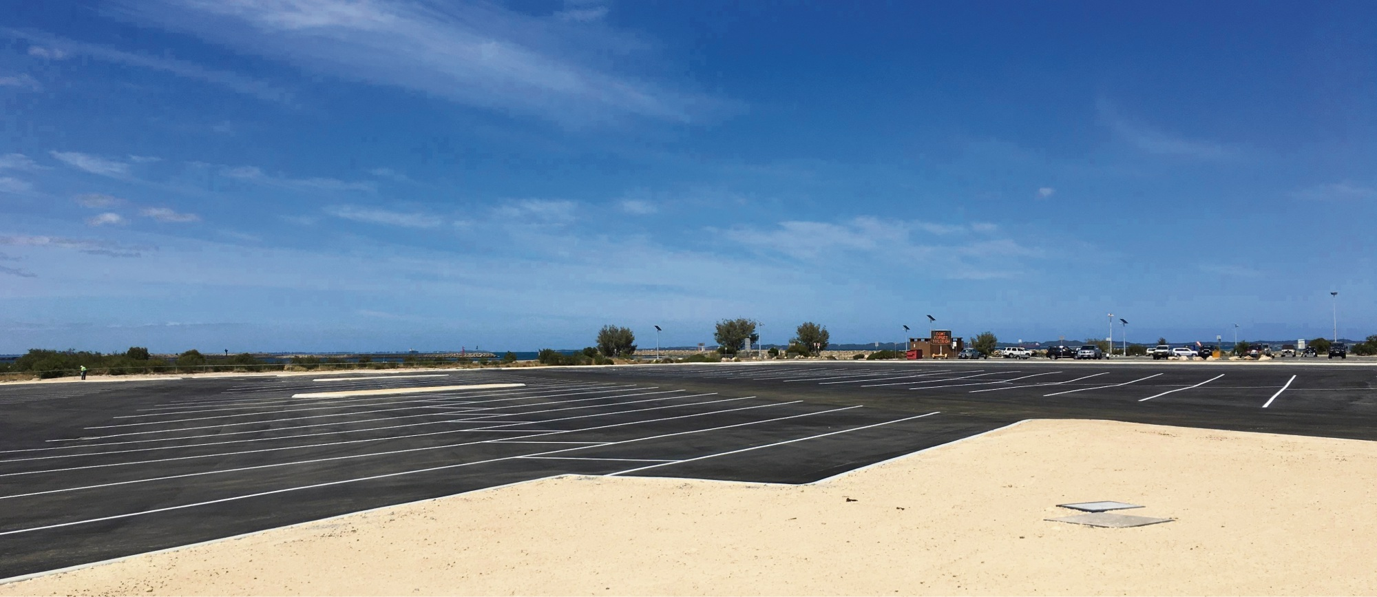 More than 200 additional boat trailer bays will be opened at Woodman Point in December.