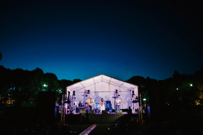 Music in the Park Joondalup: audience shines under the stars