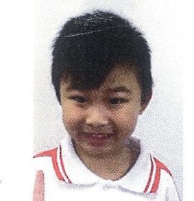 Waddington Primary School student  Huynh Phuc 'Putin' Nguyen.