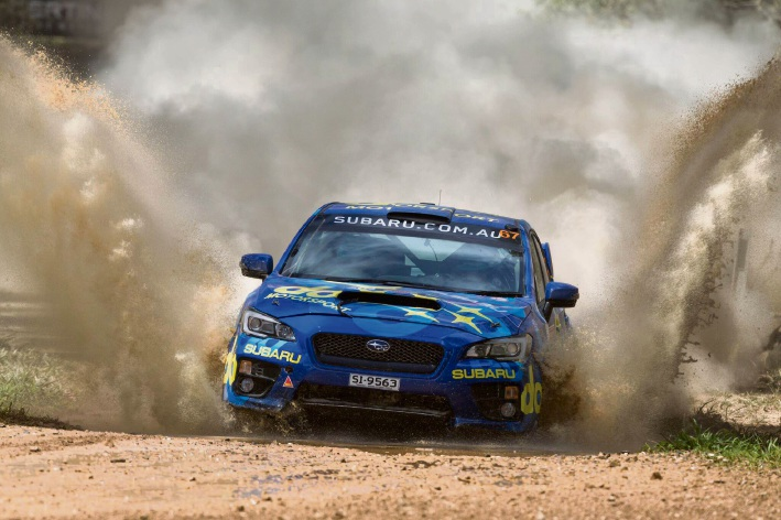 Perth co-driver helps steer Taylor to rally victory