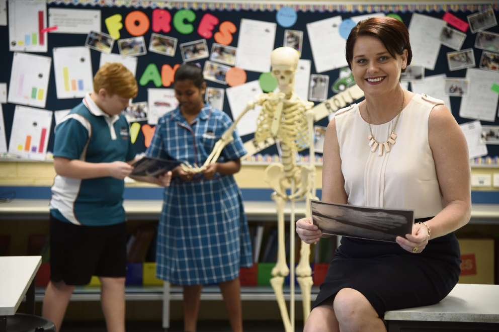 Bungaree Primary science teacher finds winning formula at WA Education Awards