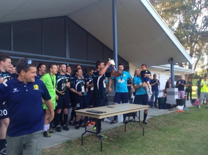 Joondalup United has had success in the lower tiers of state football. Picture: www.joondalupunited.com.au