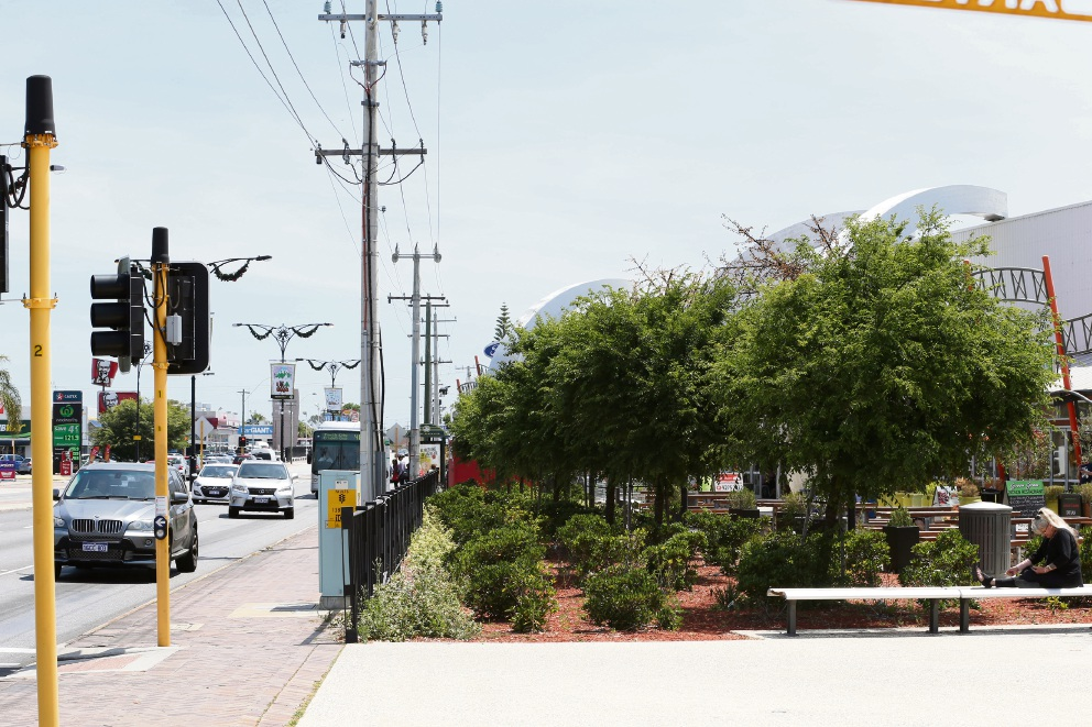 The City of Bayswater is proposing to widen Walter Road West. Picture: Andrew Ritchie