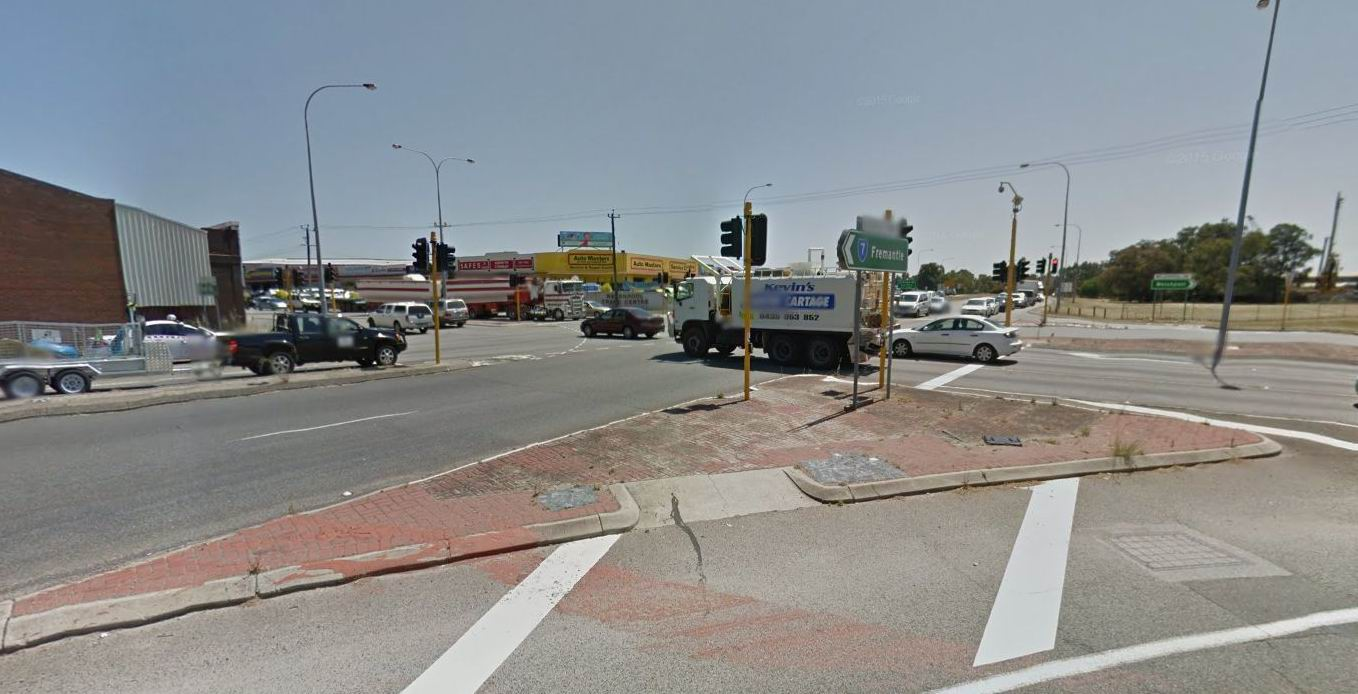 Our busiest junction: Leach Highway and Welshpool Road. Photo: Google Maps