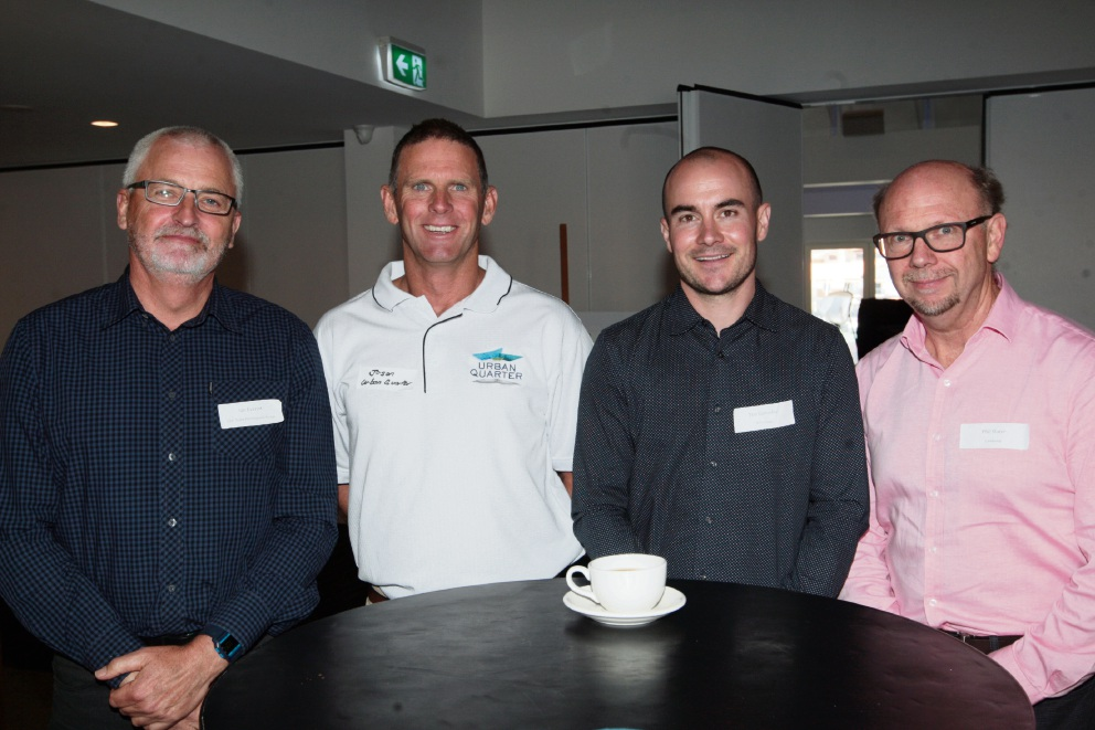 Ian Everett, Jason Wallis, Tim Connoley and Phil Slater. Pictures: Bruce Hunt