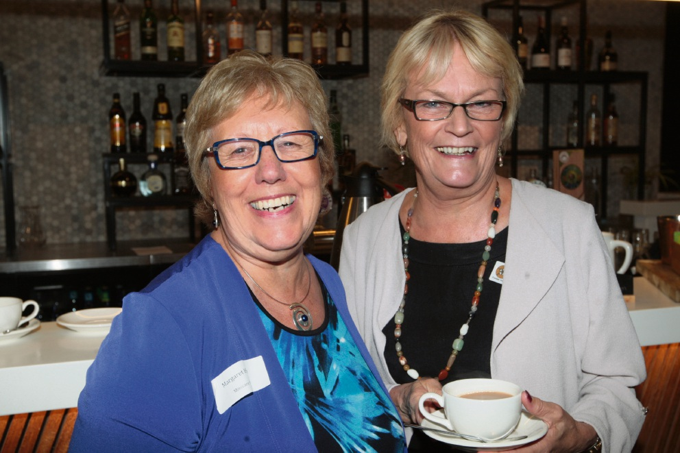 Margaret Heaton and Kathryn Skipp. Pictures: Bruce Hunt