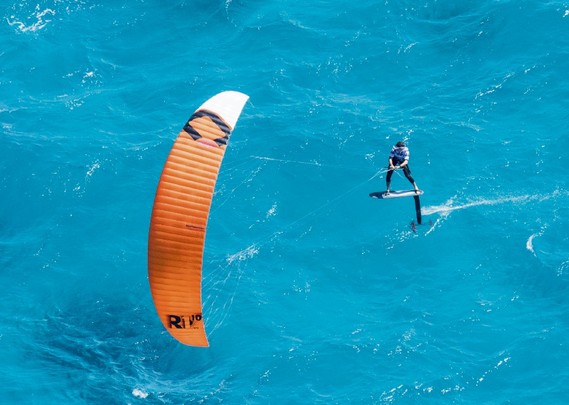 Nico Parlier ahead of the pack between Rottnest Island and Leighton Beach on Sunday.
