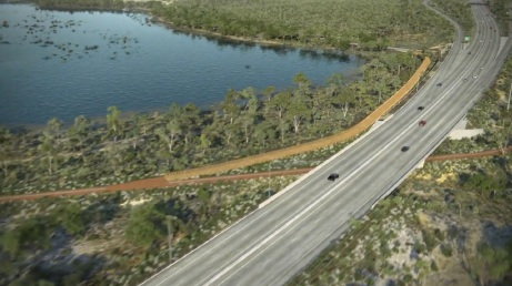 An artist's impression of what Roe 8 was to look like.