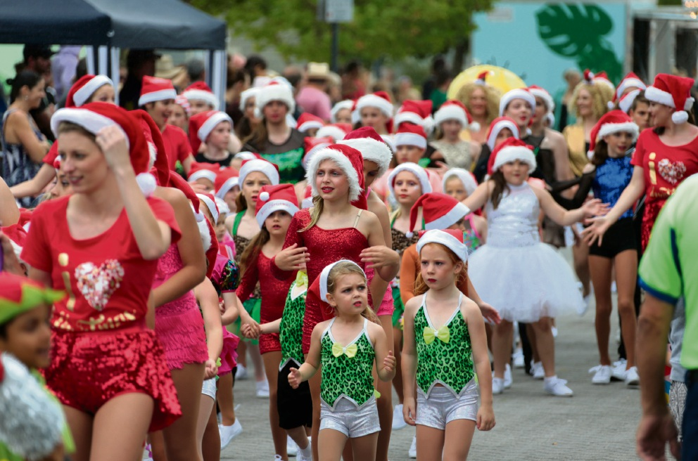 Sights and scenes from the Elfenbrook Christmas Parade and Family Fun in Ellenbrook, which featured all the traditional favourites as well as a performance by the very popular X Factor finalists The Fisher Boys.  Pictures: David Baylisd463035