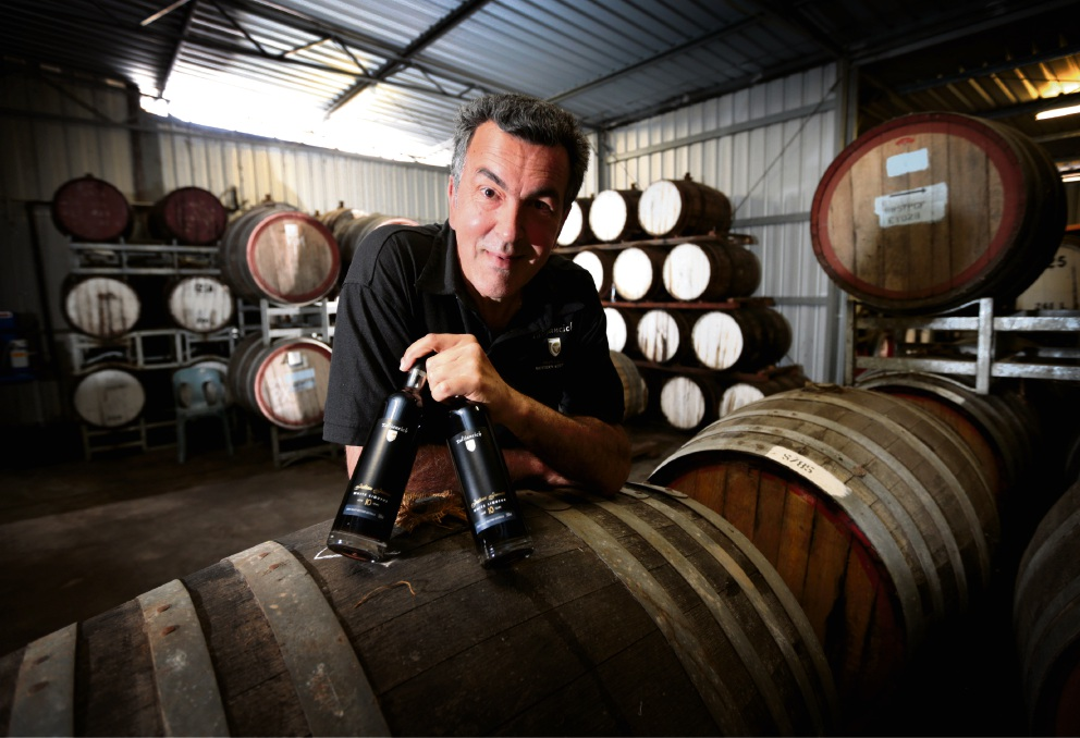 Talijancich owner and head winemaker James Talijancich says family is the most important part of his Christmas.  Picture: David Baylis        www.communitypix.com.au   d462270