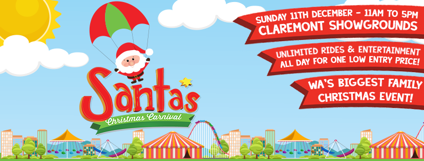 Santa's Christmas Carnival comes to Claremont this weekend