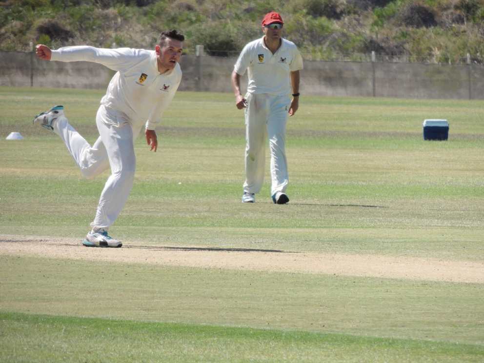 Perth bowler Sean Roberts took one wicket against Mt Lawley.