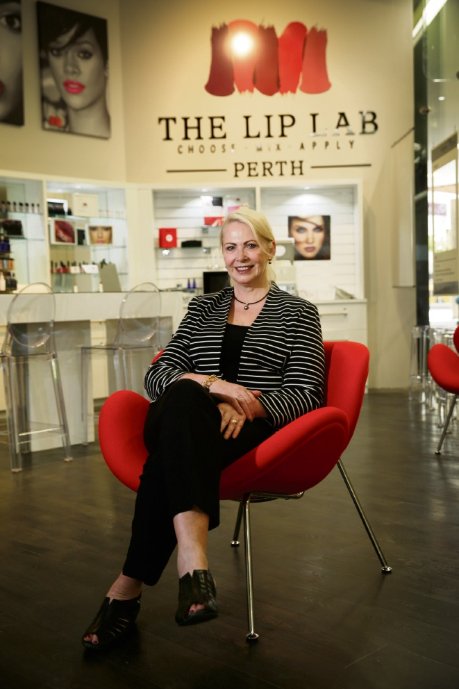 The Lip Lab creating personalised lipstick shades