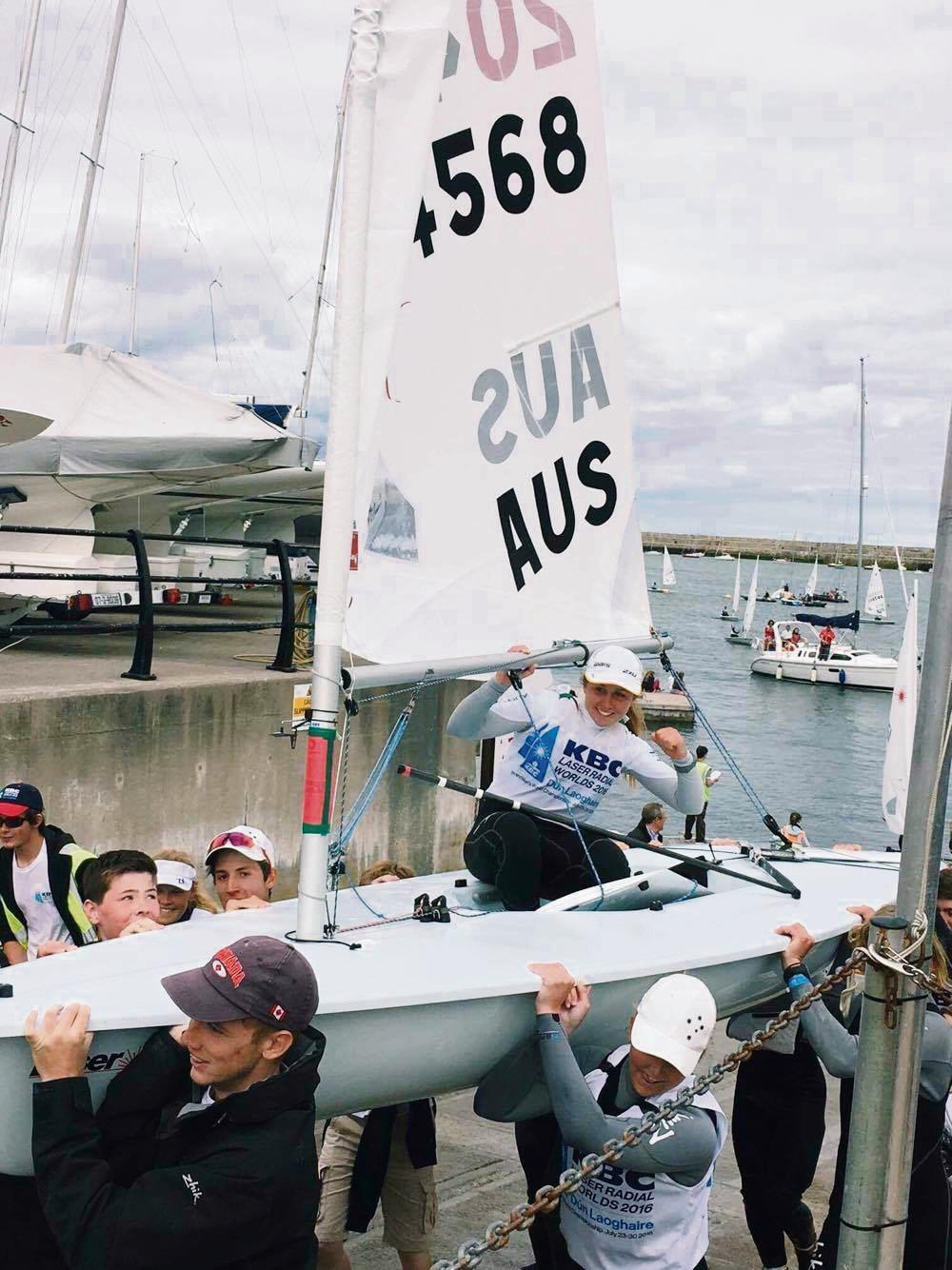Fremantle Sailing Club champion in line for WA Sports Star Award