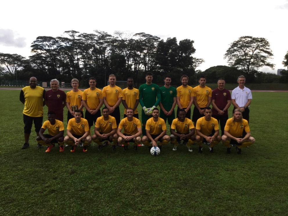 Soccer: local players help WA State Amateur side in unbeaten tour of Malaysia