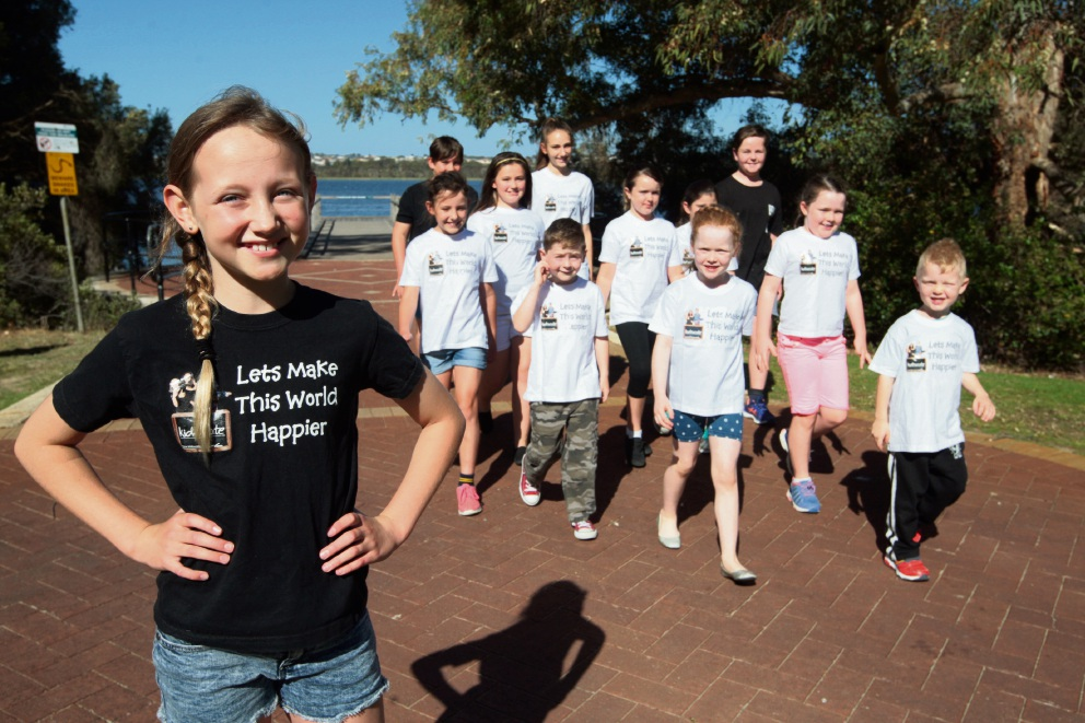 Kidzucate founder Kira Williams has organised an anti bullying walk. Picture: Bruce Hunt