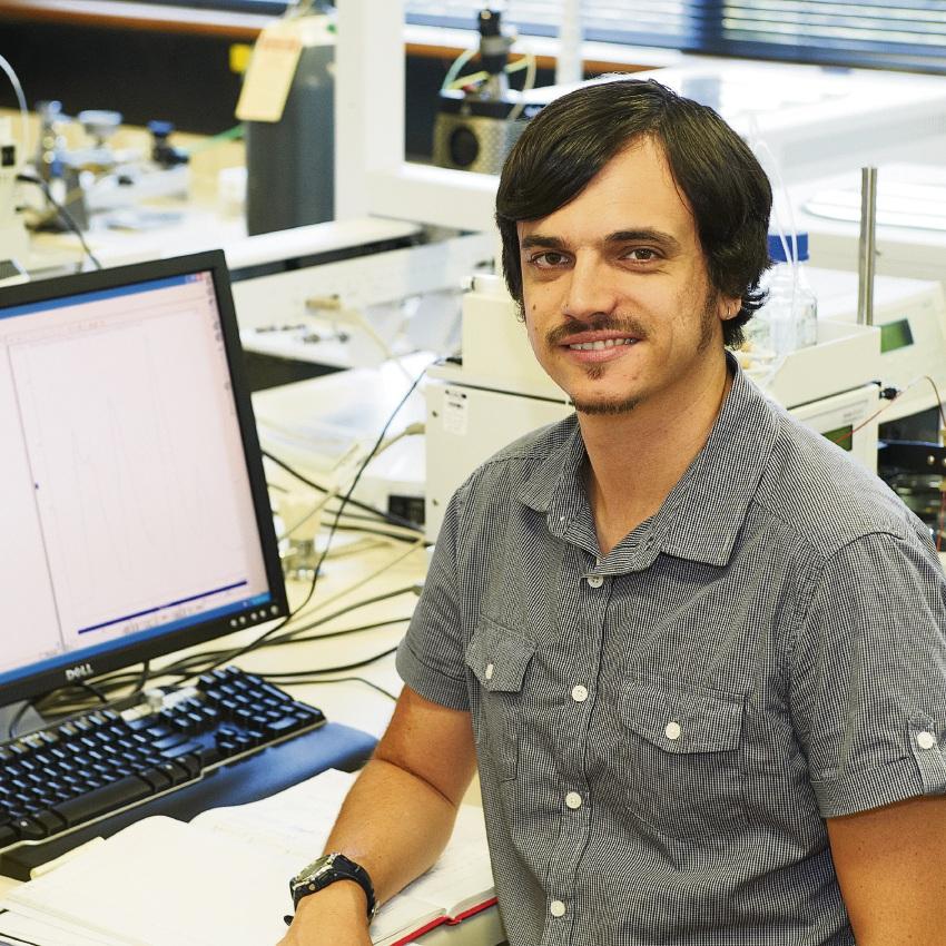 Murdoch University lecturer and researcher Garth Maker.