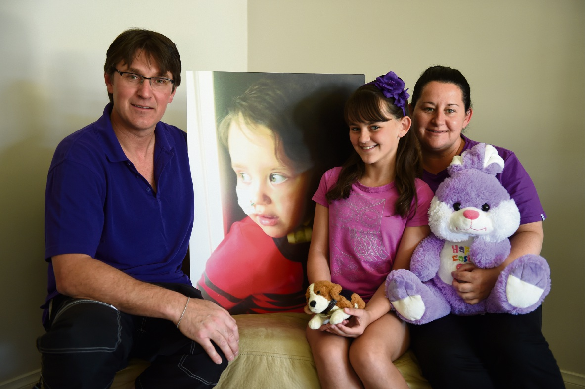 Munster family tackle Big Walk to honour the memory of their brave little girl