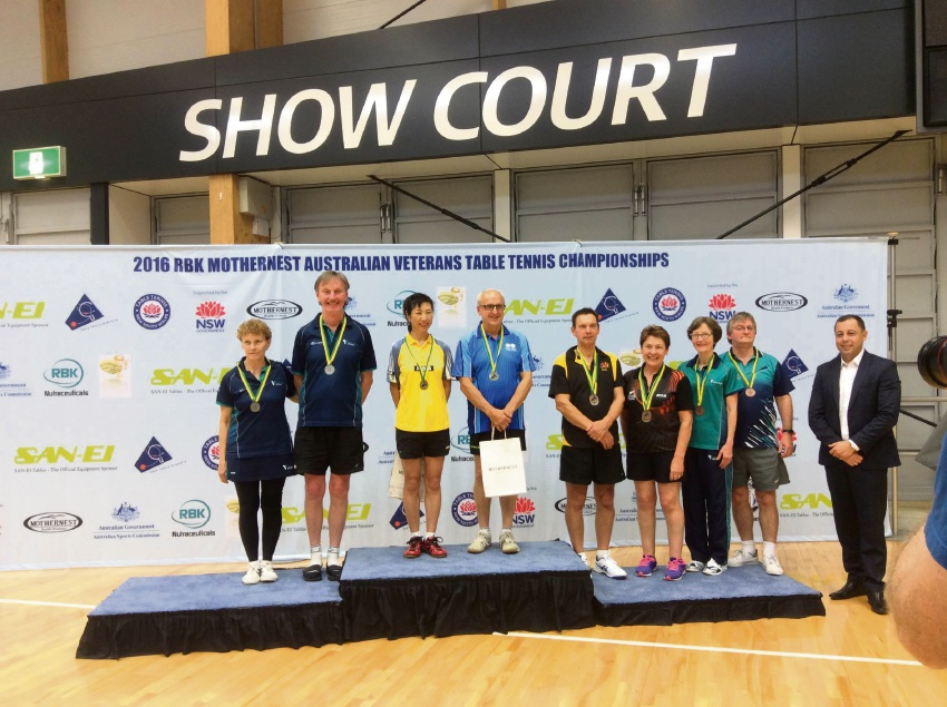 Fremantle veteran takes gold at national table tennis tournament