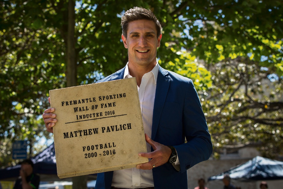 Docker great Matthew Pavlich immortalised in Fremantle Hall of Fame