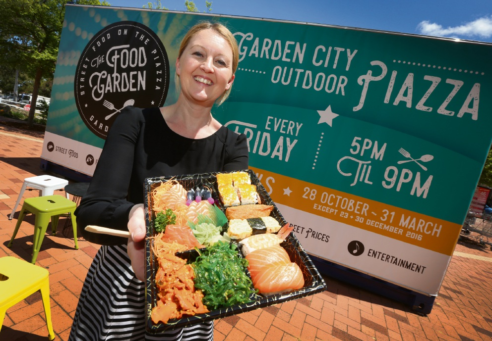 Garden City marketing manager Clare Riley is excited about launching The Food Garden.