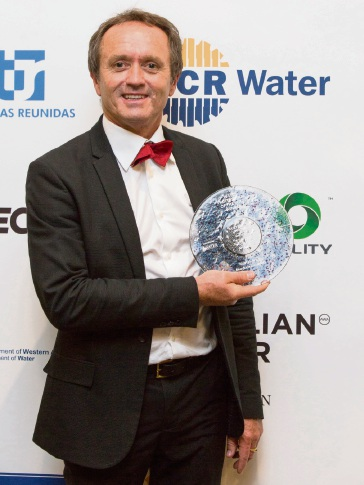 Murdoch University academic and student lauded for work in water conservation