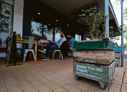 Fremantle BID distributed more than 120 planter boxes to businesses all over Fremantle, one of their most popular projects.