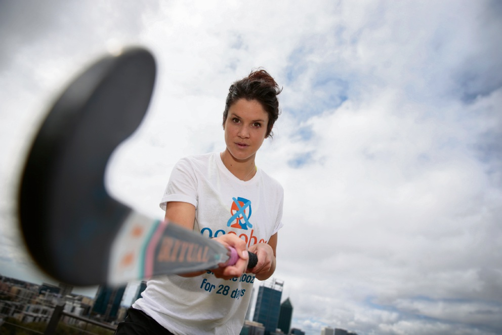Hockeyroo Anna Flanagan uses drink driving ban to educate kids during Ocsober