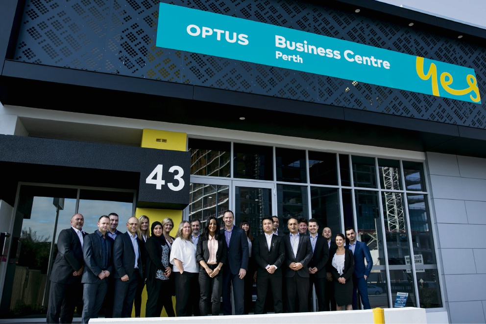 Optus Rivervale staff are raising funds for this year's Alzheimer's Australian Memory Walk on October 16.