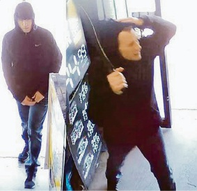 An image of the man police are seeking following an attempted armed robbery of a Gosnells liquor store on September 1.