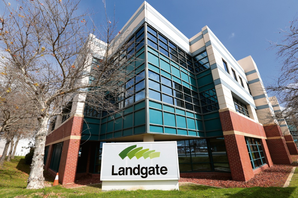 The Landgate office in Midland.