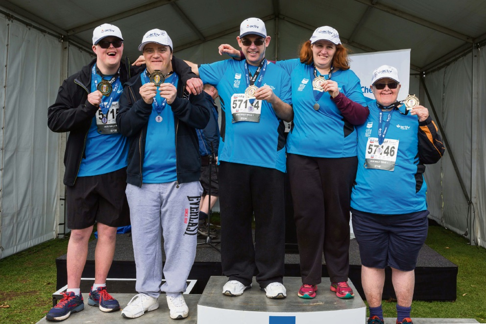 Activ All Stars: Dianella man makes history completing City to Surf for Active Series